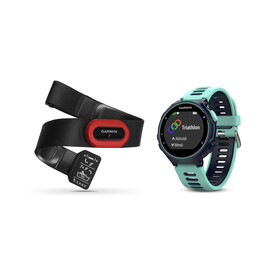 Garmin Forerunner 735XT incl. Premium HRM chest belt Run blue/turquoise